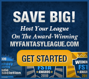 Save Big On The Award-Winning MyFantasyLeague.com League Management Web Site